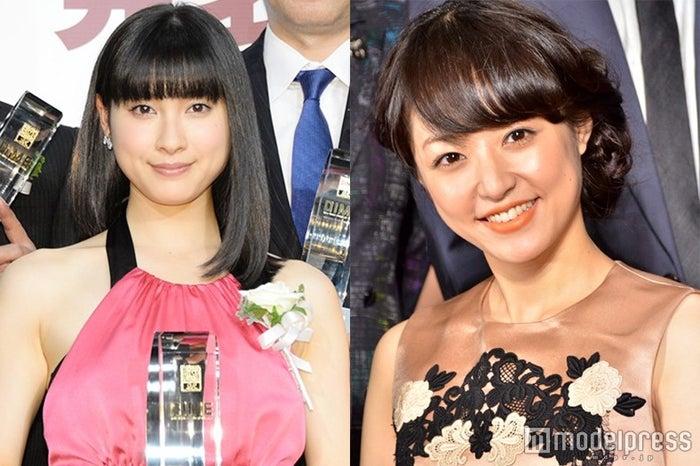 井上真央(右)への憧れを明かした土屋太鳳(左)(C)モデルプレス