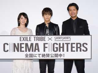 EXILE岩田剛典、桜庭ななみのサプライズに「本気で照れちゃいました」<CINEMA FIGHTERS>