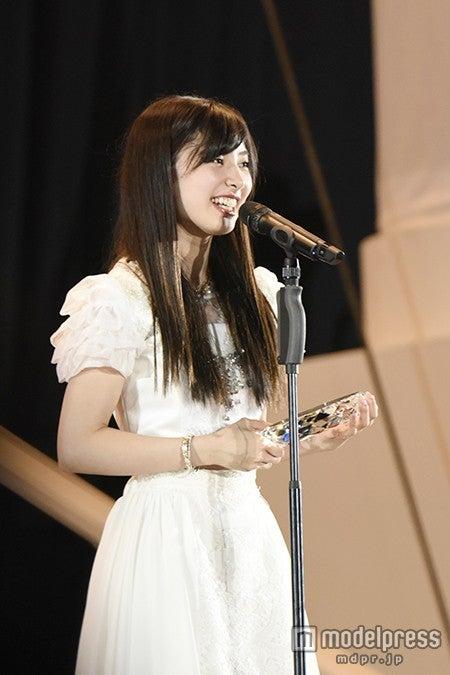 AKB48武藤十夢、順位結果に「手が震えてすごく怖い」<第7回AKB48選抜総選挙>(C)AKS【モデルプレス】