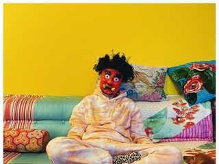 仲里依紗&中尾明慶、家族で節分楽しむ 鬼の仮面姿に「楽しそう」の声