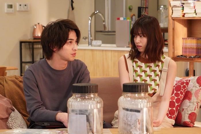 (左から)横浜流星、西野七瀬/「あなたの番です」第12話より(C)日本テレビ