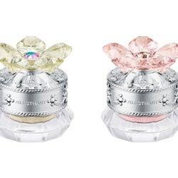 【ジルスチュアート ビューティ】花々が香る宝石アイカラー、2・3月の限定色はミモザとピオニー