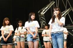 (右)松村香織「SKE48 リクエストアワー セットリストベスト100 2018 ~メンバーの数だけ神曲はある~」15日夜公演より(C)AKS
