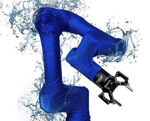 ロボット専用ウェアのロケットロード 協働ロボ用アームカバーをデンマークのメーカーと開発