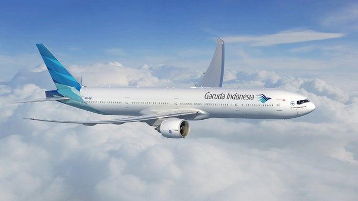 B777-300ER型機(C)ガルーダ・インドネシア航空