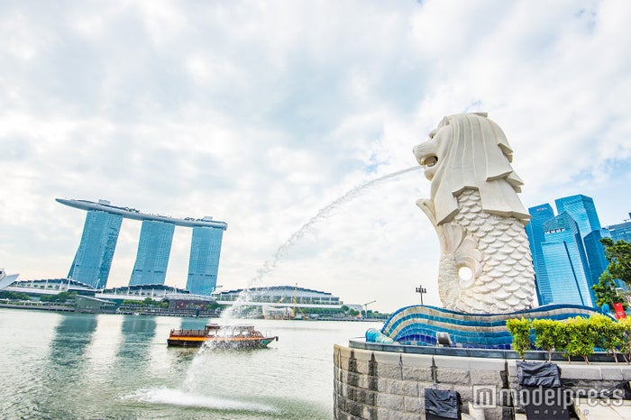 シンガポールといえばマーライオン (C)モデルプレス