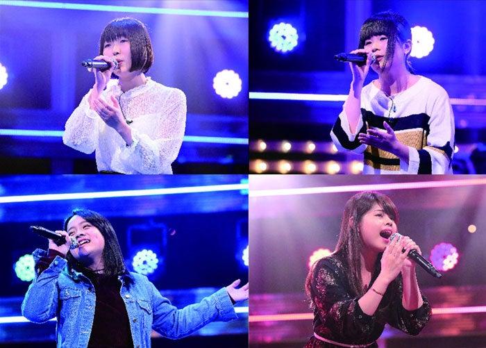 鳥居れな(左上)、川村海月(右上)、清水美依紗(左下)、アルメリノ・アナリン(右下)(C)テレビ朝日