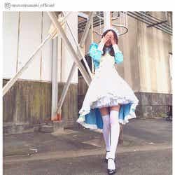 モデルプレス - 佐々木希、美脚際立つメイド風コスプレ公開「可愛い」の声殺到