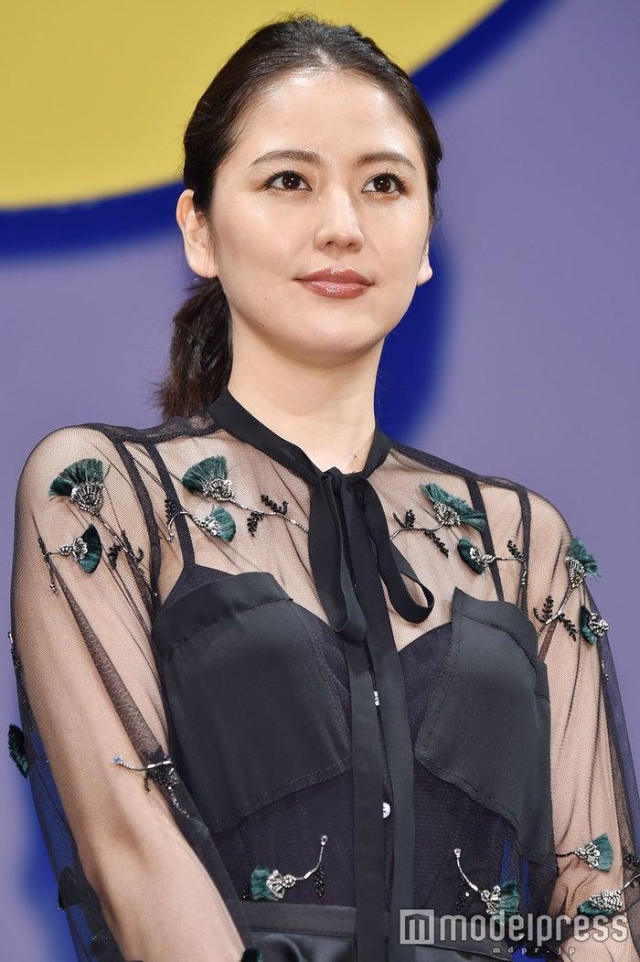 映画「グッドモーニングショー」の完成披露試写会に出席した長澤まさみ(C)モデルプレス