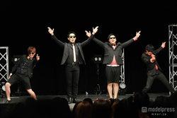「ラッスンゴレライ」8.6秒バズーカー、東京で初単独公演成功 オリラジもサプライズ登場で観客沸かす