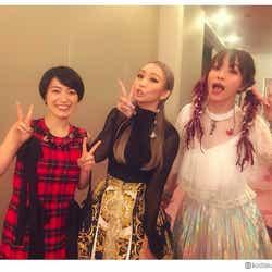 モデルプレス - 倖田來未&miwa&LiSA、豪華歌姫の3ショットにファン歓喜