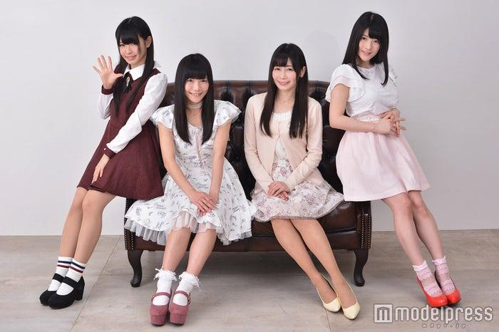 (左から)窪田美沙、立花あんな、桜のどか、神谷えりな