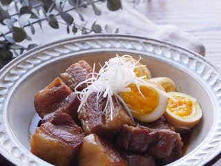 旨味たっぷり「豚の角煮」の作り方|じっくり煮込んでほろほろ!
