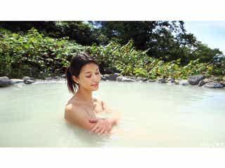 橋本マナミ、岸明日香、祥子ら谷間全開のセクシー入浴