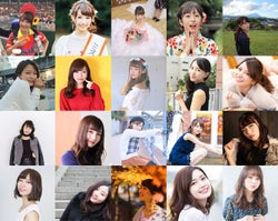 「Miss of Miss CAMPUS QUEEN CONTEST 2018」ファイナリスト (提供画像)