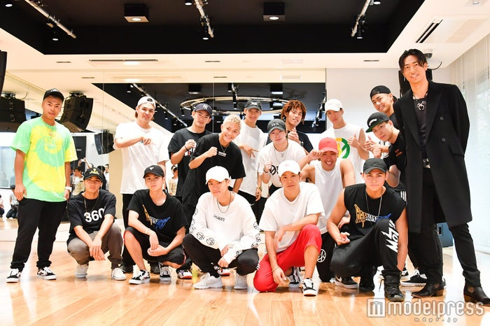 EXILE AKIRAとTHE RAMPAGE from EXILE TRIBE(C)モデルプレス