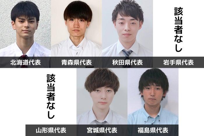 「男子高生ミスターコン2019」北海道・東北エリア代表