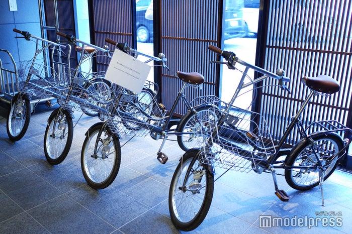ゲスト用のレンタル自転車(C)モデルプレス