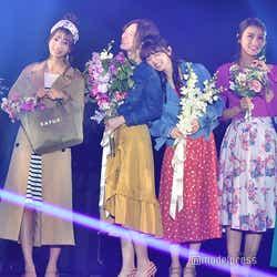 (中央)白石麻衣、齋藤飛鳥 (C)モデルプレス