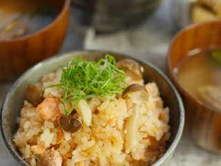 もはや包丁いらず!「鮭めんたい炊き込みご飯」炊飯器で簡単レシピ