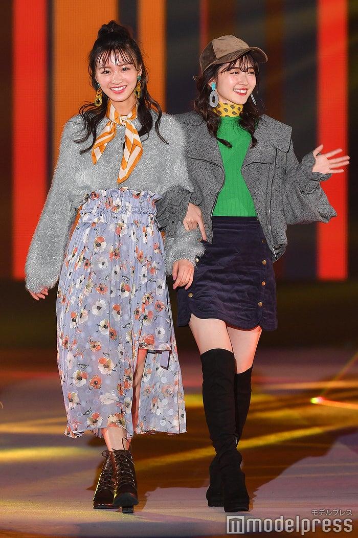 岡崎紗絵&鈴木愛理(C)モデルプレス