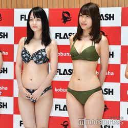 エリス瑛菜、羽田千夏 (C)モデルプレス
