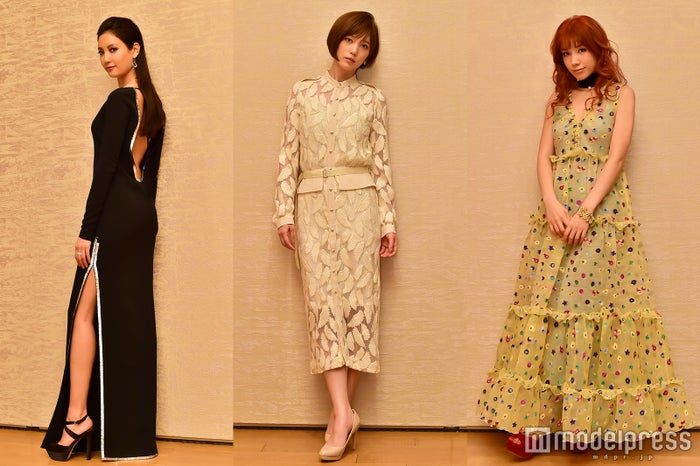 (左から)映画「土竜の唄 香港協奏曲」に出演する菜々緒、本田翼、仲里依紗 (C)モデルプレス
