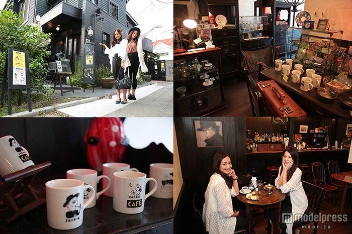 「ミルクホール」はカフェ&バーだけでなく、雑貨スペースも併設