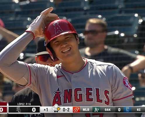 「そんなに投げないでよ」大谷翔平、打者より投げる牽制連発に思わず苦笑い ファンも「徹底してるな笑」「マジで多い」