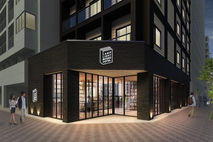 ランプライトブックスカフェ(イメージ)/画像提供:ソラーレ ホテルズ アンド リゾーツ
