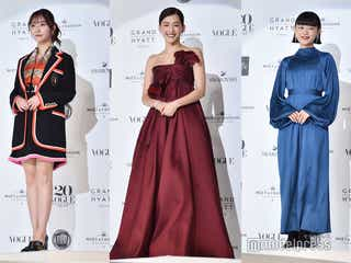 綾瀬はるか・指原莉乃・杉咲花ら、色気醸す豪華ドレスで登場<VOGUE JAPAN WOMEN OF THE YEAR 2019>