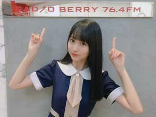 乃木坂46賀喜遥香、地元・栃木で1人プロモーション「変な感じでした」