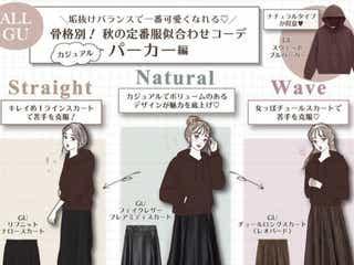 【骨格タイプ別】GU定番パーカーのあか抜けコーデ術 似合わせテクでもっと可愛く着られる!