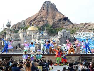 """ディズニーシー、新ショー初公演 初登場の""""ジェラトーニ""""に歓声"""