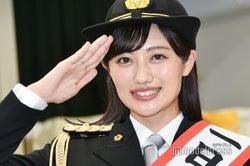 """""""パトレンジャー""""奥山かずさ、警官姿でパレード 大役を務める"""