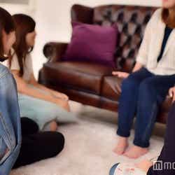 モデルプレス女性芸能記者座談会の様子(C)モデルプレス