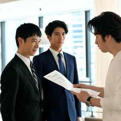 堺雅人、賀来賢人、尾上松也/「半沢直樹」第3話より(C)TBS