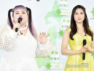 土屋太鳳&渡辺直美、CMソング披露で「息ぴったり」 絶賛され安堵