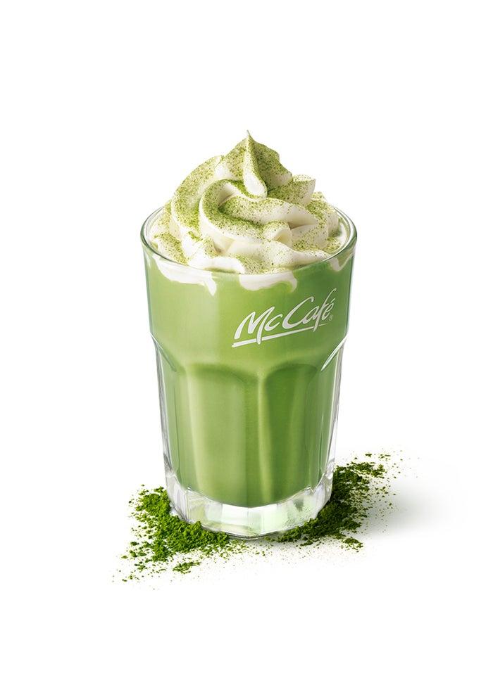 アイス抹茶ラテ/画像提供:日本マクドナルド