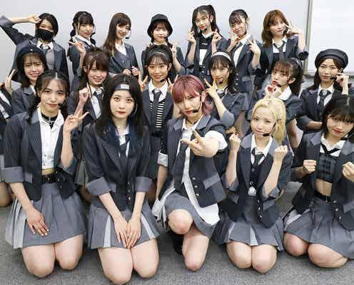 AKB48、新曲「根も葉もRumor」センターは岡田奈々<音楽の日2021>