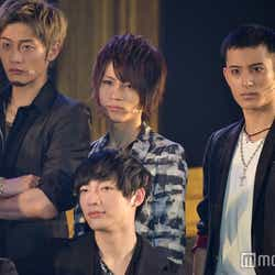 (後列左から)橋本全一、益満洸輝、武子直輝(C)モデルプレス