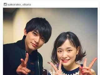 大原櫻子&吉沢亮「カノ嘘」2ショットに反響「大好きなコンビ」