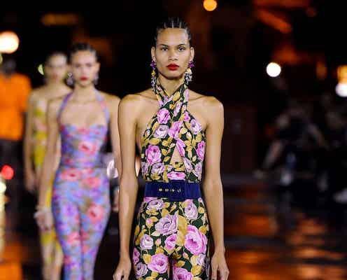 22年春夏パリ・コレクション サンローランはセクシーと上品のバランス