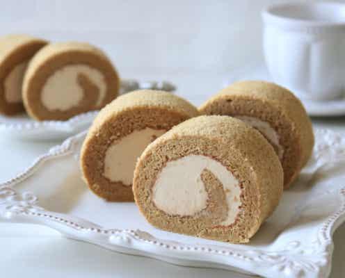 この味…なんだか懐かしい♡もっとクリームを…の願いが叶う!コーヒーロールケーキ