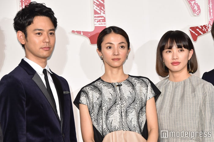 (左から)妻夫木聡、満島ひかり、臼田あさ美 (C)モデルプレス