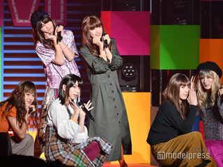 M!LK、女装姿で全力パフォーマンス 欠席の佐野勇斗からメッセージも<ViVi Night>