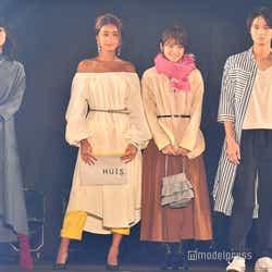 深川麻衣、みちょぱ、若月佑美、磯村勇斗(C)モデルプレス
