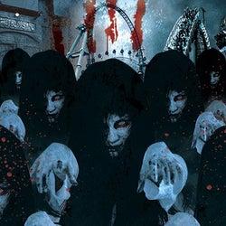 富士急「戦慄ホラーナイト」夜の遊園地で亡霊100体に襲われるホラーイベント