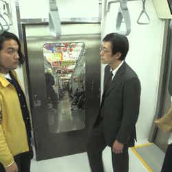 (左)盛山晋太郎 (C)TBS