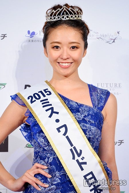 「ミス・ワールド2015」日本代表の中川知香さん【モデルプレス】